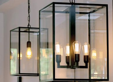 Pendant lamps - Pendant Vitrine Lantern - AUTHENTAGE LIGHTING