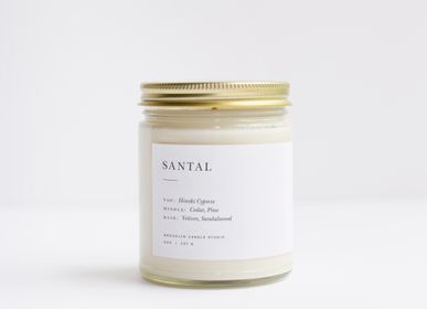 Autres fournitures bureau  - Santal Minimalist Bougie - BROOKLYN CANDLE STUDIO