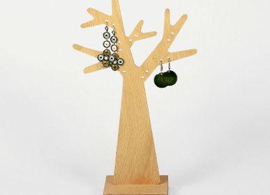 Bijoux - Arbre à boucles d'oreilles socle carré | arbre à boucles d'oreilles - REINE MÈRE