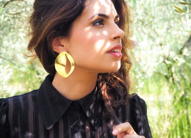 Jewelry - Olea earrings - JOUR DE MISTRAL