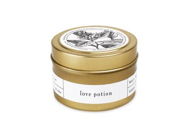 Accessoires à poser - Love Potion Gold Travel Bougie - BROOKLYN CANDLE STUDIO