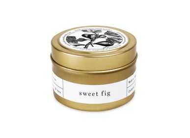 Autre fourniture bureau - Sweet Fig Gold Travel Bougie - BROOKLYN CANDLE STUDIO