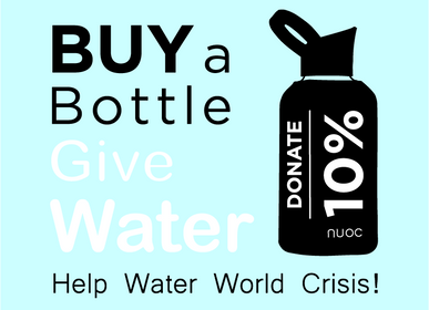 Ready-to-wear - LIVE, LOVE, SAVE COLLEVTION by NUOC bottles - NUOC