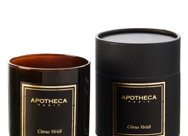 Scents - Citrus Viridi Scented Candle - APOTHECA - LUXURY FRAGRANCES MADE IN PARIS