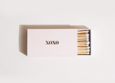 Spa and wellness - XOXO Dusty Pink Long Matches - BROOKLYN CANDLE STUDIO