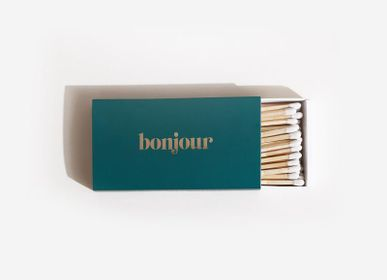 Spa and wellness - Bonjour Emerald Long Matches - BROOKLYN CANDLE STUDIO