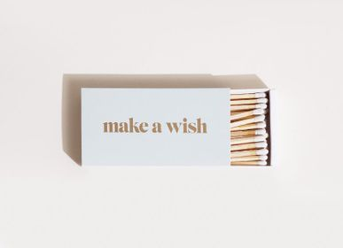 Spa and wellness - Make a Wish Sage long Matches - BROOKLYN CANDLE STUDIO