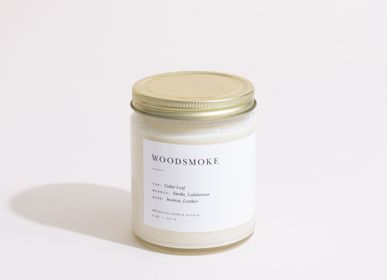 Accessoires à poser - Woodsmoke Minimalist Bougie - BROOKLYN CANDLE STUDIO