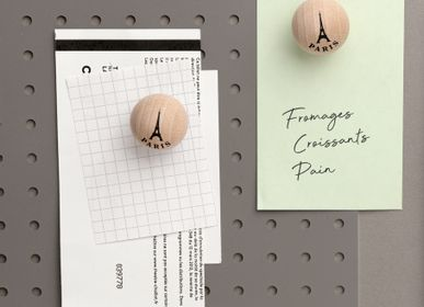 Personalizable objects - Eiffel Tower magnetic ball - natural - TOUT SIMPLEMENT,
