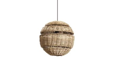 Pendant lamps - Circle lamp baobab small - SEMPRE LIFE