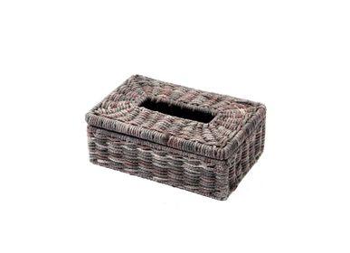 Decorative objects - Tissue box multicolor pastel rectangular - SEMPRE LIFE