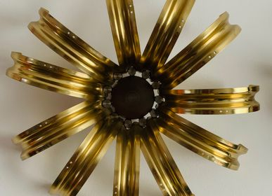Decorative objects - Decorative Golden flowers - J HALF O