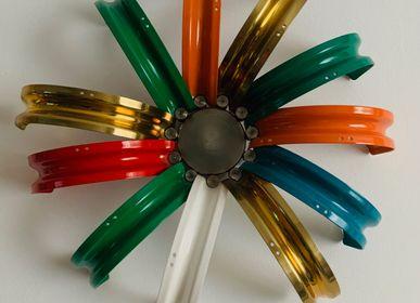 Decorative objects - Decorative Rainbow flowers - J HALF O