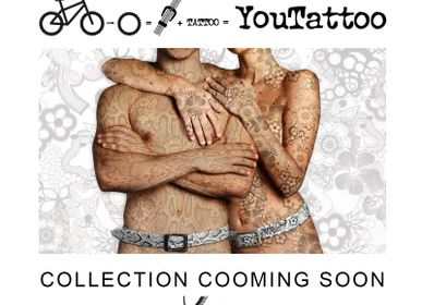 Leather goods - YOUTATTO GRAPHICS BELT - CINGOMMA