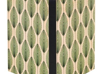 Papeterie - Carnet en bois Leaves - WOODHI