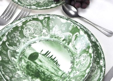 Assiettes au quotidien - Bolgheri | Ceramic Tableware |Made in Italy - ARCUCCI TRADE SRL