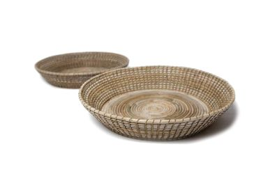 Decorative objects - Round tray lombok weaving s/2 Basket - SEMPRE LIFE