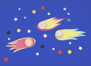 Pour enfants - Boules de bain Galaxie nailmatic kids - NAILMATIC KIDS