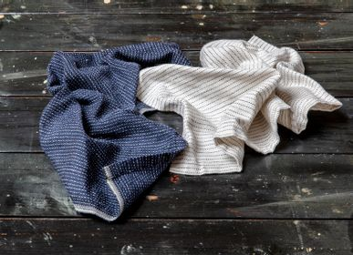 Bath linens - TEXTILE NO. 9 - TABLE NAPKIN OR DISHCLOTH - KARIN CARLANDER
