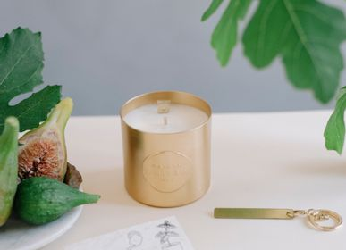 Personalizable objects - Secret Message Candle with Fig Scented - MAISON SHIIBA PARIS