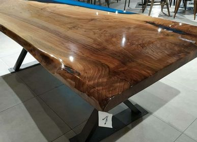 Tables - Blue lake table - DESIGNTRADE