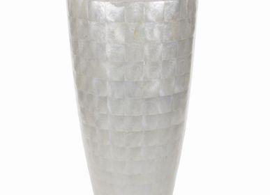 Vases -  Capiz Collection Warm White - ADIEM