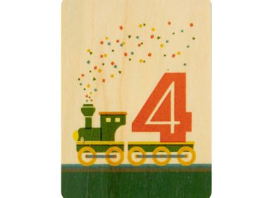 "Gifts - Woodhikids card ""4"" - WOODHI"
