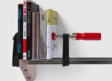 Bookshelves - CLAMP SHELF - ATYPYK