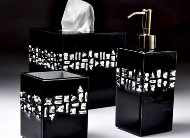 Waste baskets - Swarovski Bath Accessories - MIKE + ALLY