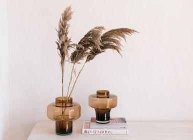 Art glass - Hope brown glass vase CR70147 - ANDREA HOUSE