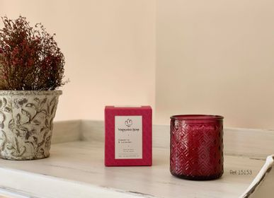 Bougies - Bougie parfumée au fuchsia - Organic Collection  - VEREMUNDO HOME