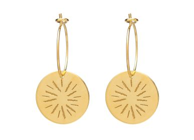 Jewelry - Mini sun hoop earrings - JOUR DE MISTRAL