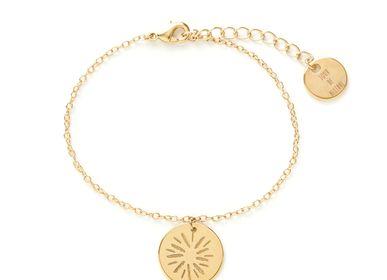Bijoux - Bracelet médaille soleil - JOUR DE MISTRAL