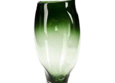 Vases - Vase Helena large model smaragdin - SEMPRE LIFE