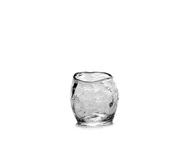 Glass -  Helena cup Ø7 x h8 crackle - SEMPRE LIFE