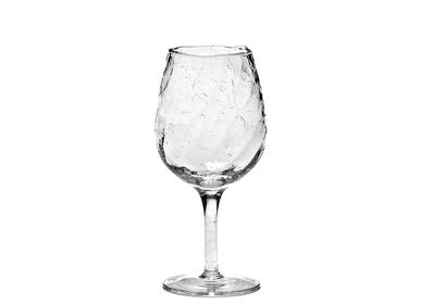 Stemware - Wine glass low crackle - SEMPRE LIFE