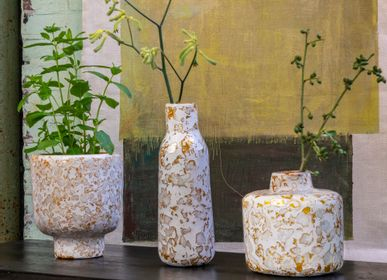Vases - Capiz pulp vase and flower pots - KINTA