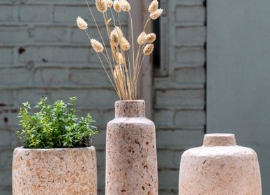 Vases - Wood pulp vases, hanging planters and flowerpots - KINTA