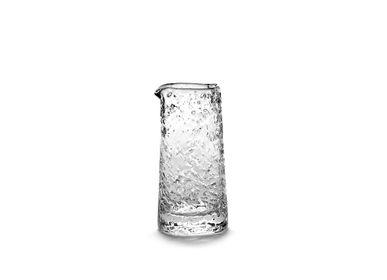 Carafes - Zion carafe Ø8,5 x h18 snow - SEMPRE LIFE