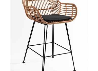 Lawn armchairs - STOOL CB6127 - CRISAL DECORACIÓN