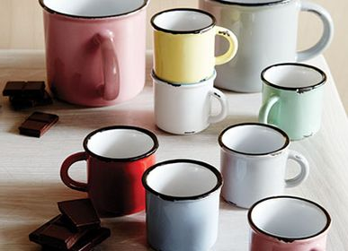 Mugs - Tinware Mug  - CANVAS HOME