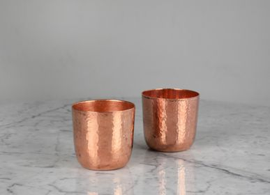 Wine - Old fashion copper glass  - WOLOCH COMPANY