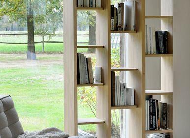 Bibliothèques - Étagère escalier en chêne - ETHNICRAFT