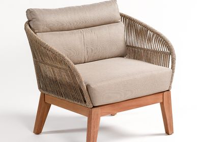 Lounge chairs for hospitalities & contracts - ARMCHAIR PALERMO CHAIR - CRISAL DECORACIÓN