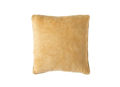 Cushions - Mustard cotton cushion AX70197 - ANDREA HOUSE