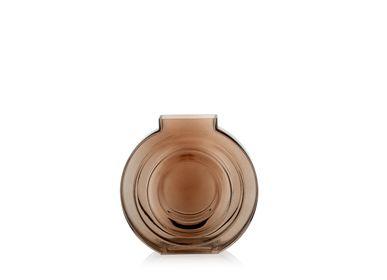 Art glass - Bliss brown glass vase CR70141 - ANDREA HOUSE