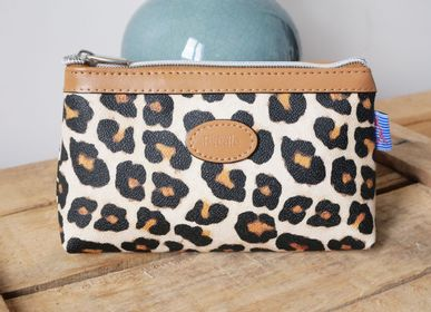 Clutches - Leopard bags and pouches - ROYAL TAPISSERIE MADE IN FRANCE