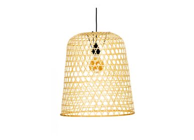 Suspensions - Lampe suspension en bambou IL70047 - ANDREA HOUSE