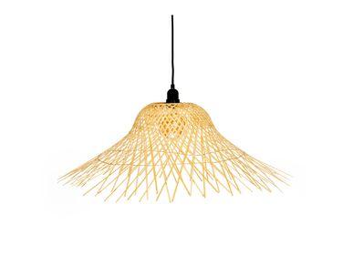 Pendant lamps - Bamboo pendant lamp IL70050 - ANDREA HOUSE