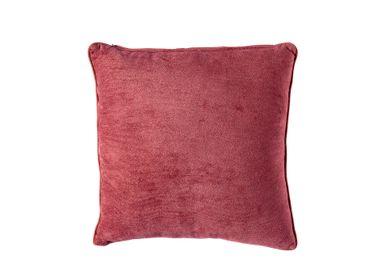 Fabric cushions - Maroon cotton cushion AX70199 - ANDREA HOUSE